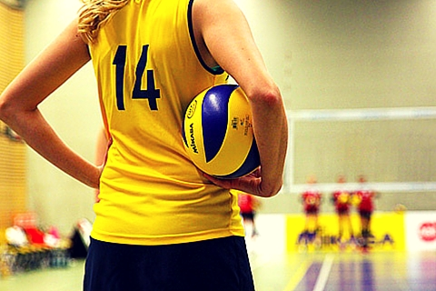 Joueuse de volleyball